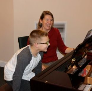 Fun at the piano; teaching piano lessons